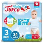 BABY TURCO KULOT BEZ MIDI 34 LU